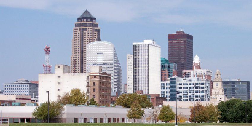 Image of Des Moines skyline