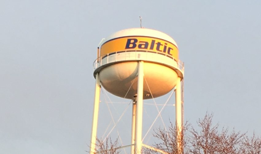 Image of Baltic water tower
