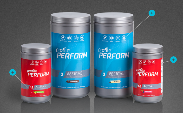 Profile By Sanford Adds Perform Line Of Nutrition Drinks
