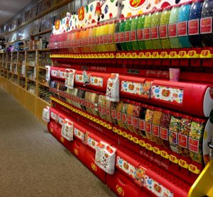 the store also will feature 80 jelly belly flavors in a creative display more than 200 kinds of bottled sodas a variety of gourmet candies