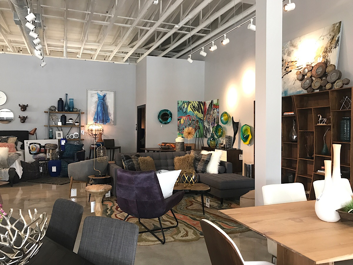 Moe s Home Collection is at 2400 S  Marion Road in the Lake Lorraine  development. Midcentury  modern furniture shop opens at Lake Lorraine