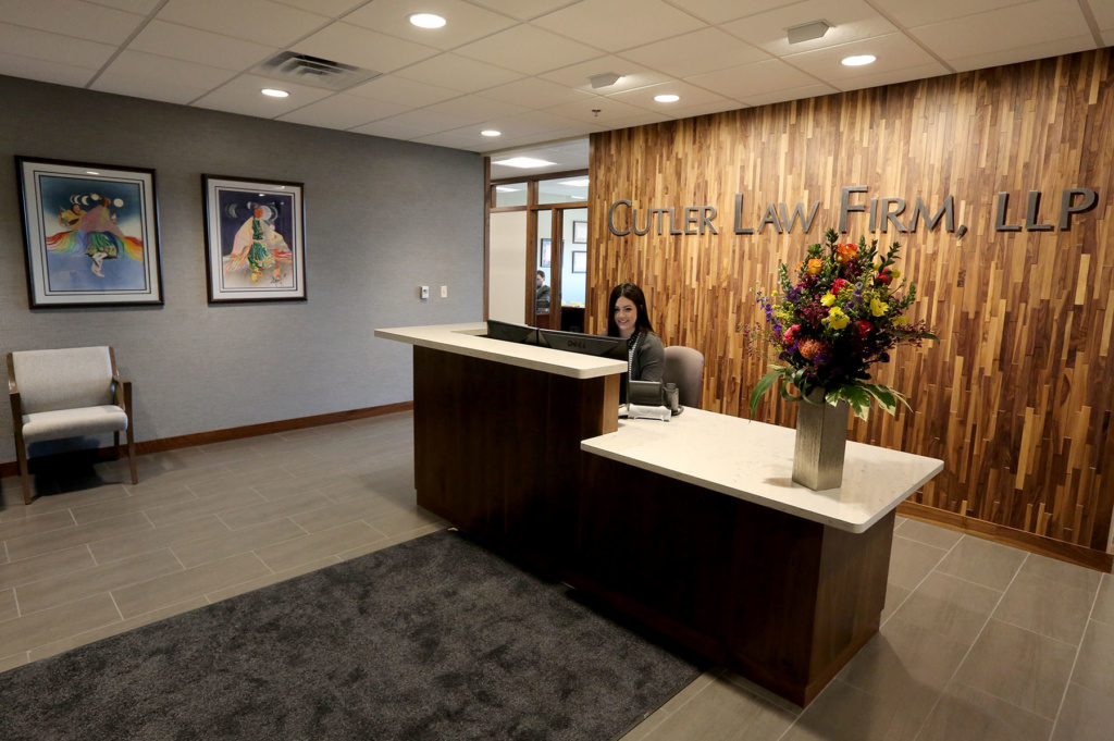 Classic Meets Modern In New Downtown Law Firm Office