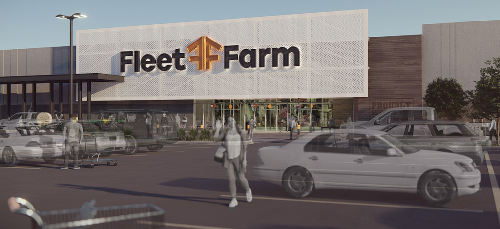 heres how the sioux falls fleet farm will look