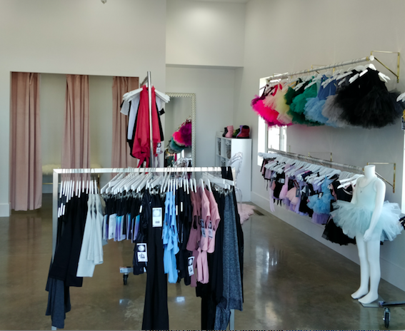 New apparel store specializes in dance e3cc0958bec