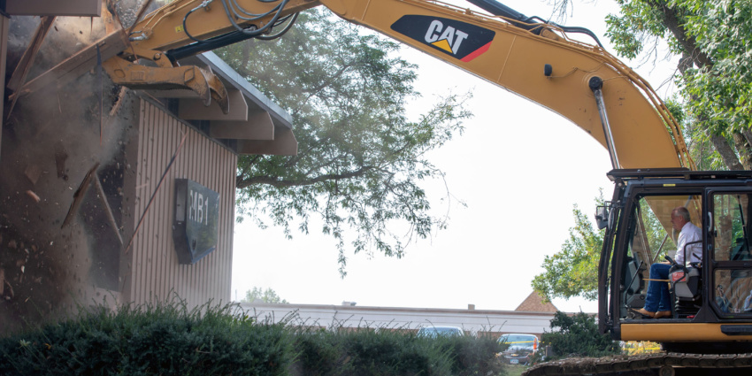 With Demolition Of Long Time Building Sanford Clears Way For