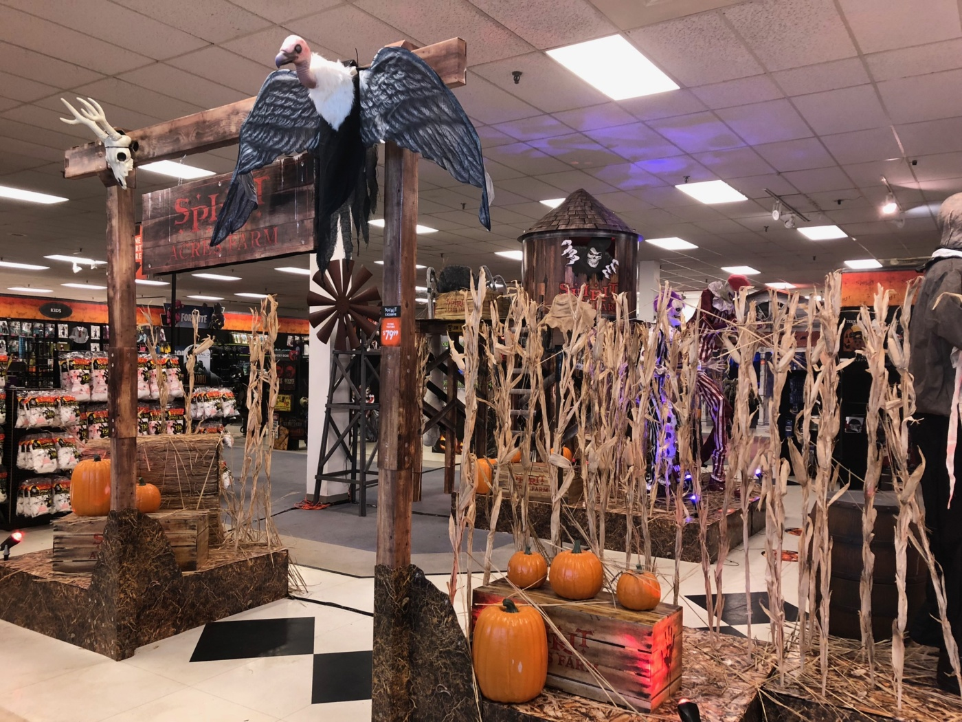 new at empire: halloween takes over younkers; other stores move