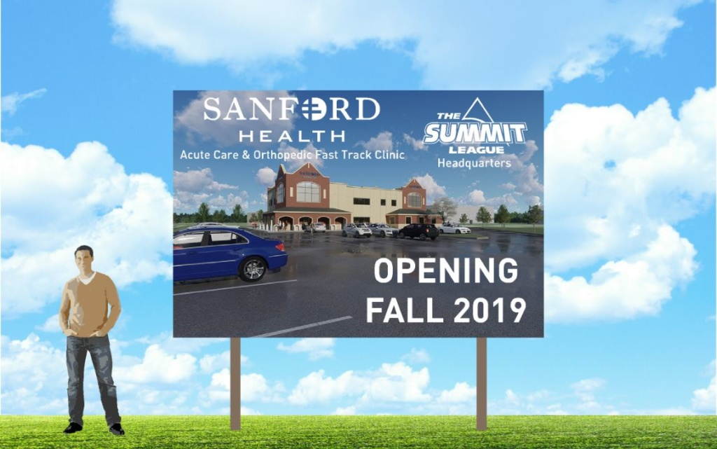 Sanford Starts Work On Clinic Summit League Office At Sports