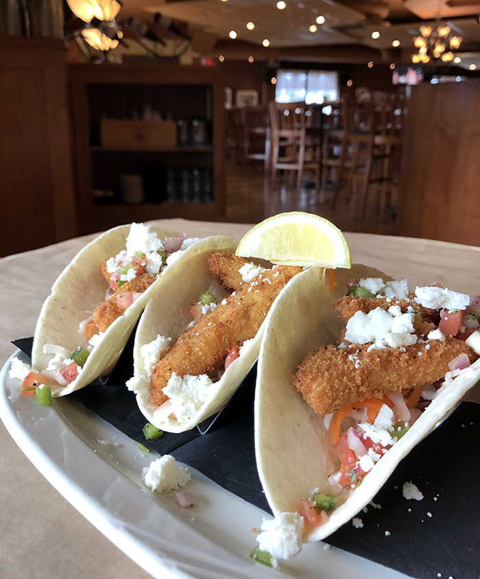 Grille26 fish tacos