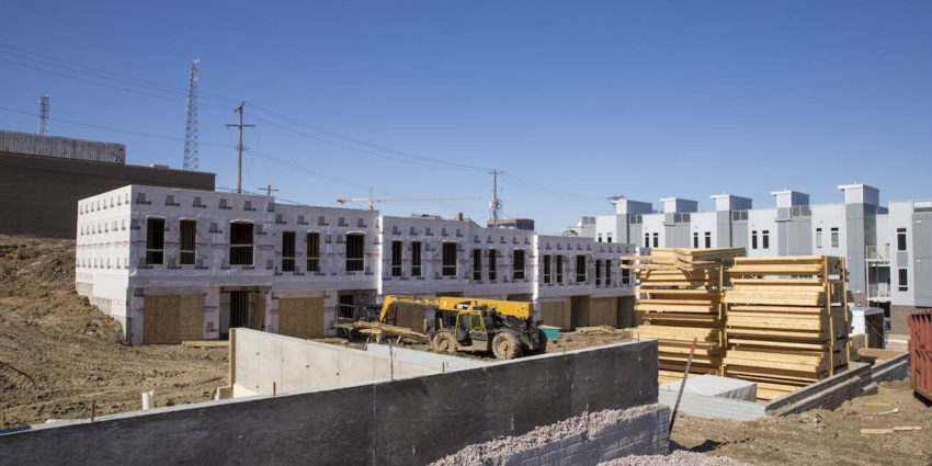 Image of town homes