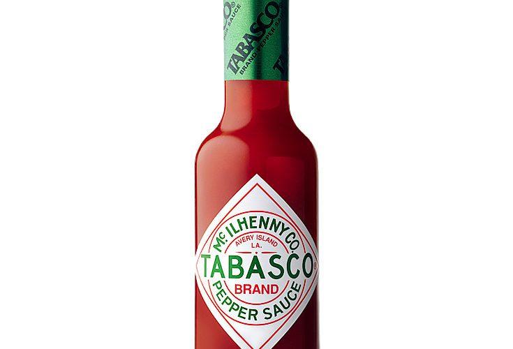 Image of Tabasco label