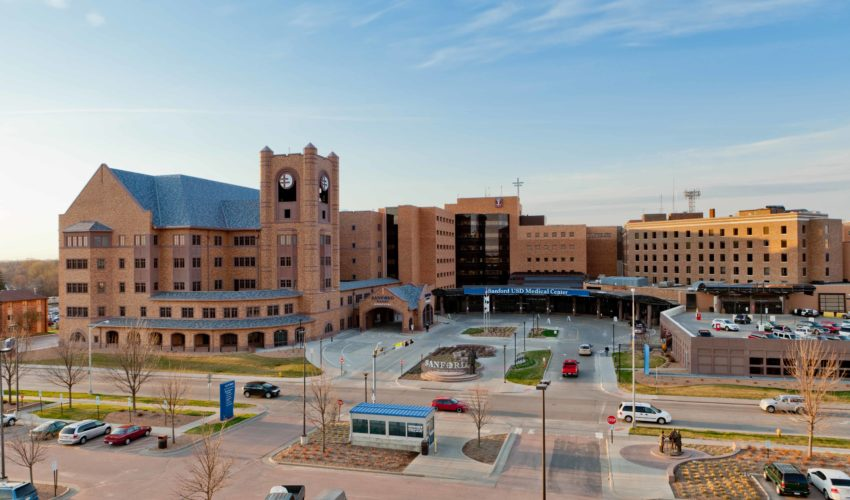 Sanford USD Medical Center in Sioux Falls.