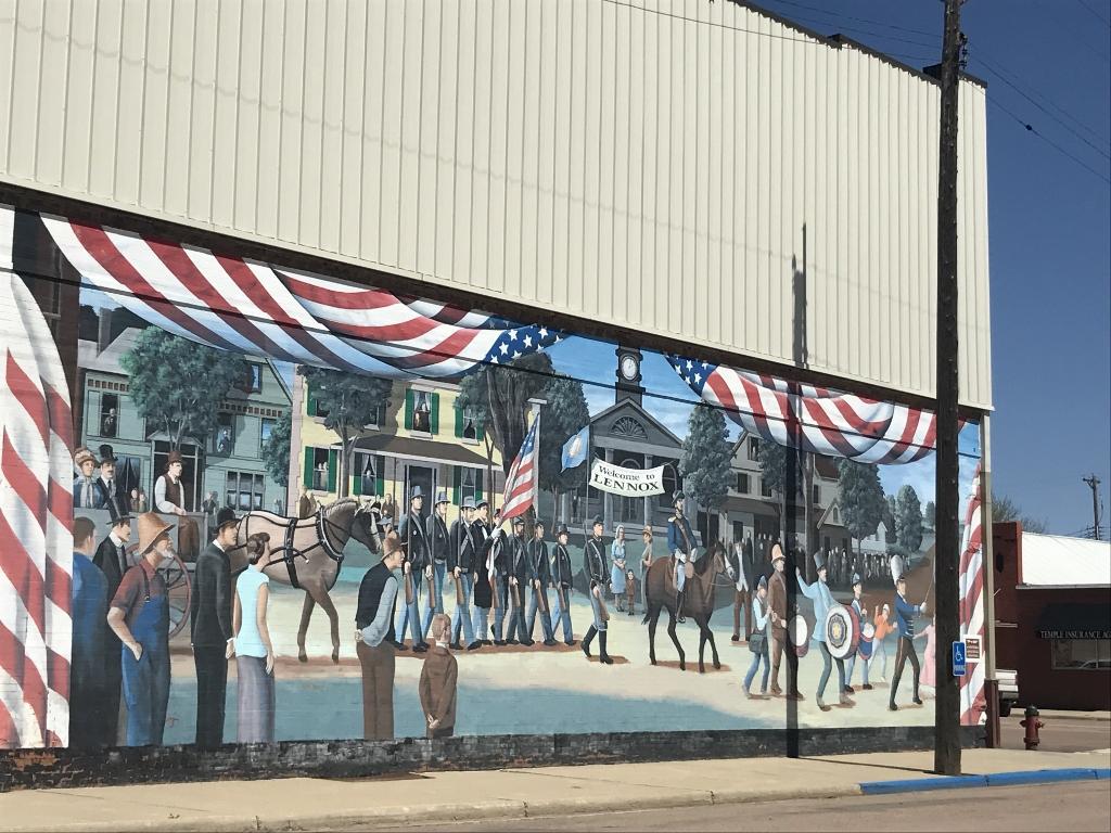 Image of Lennox mural