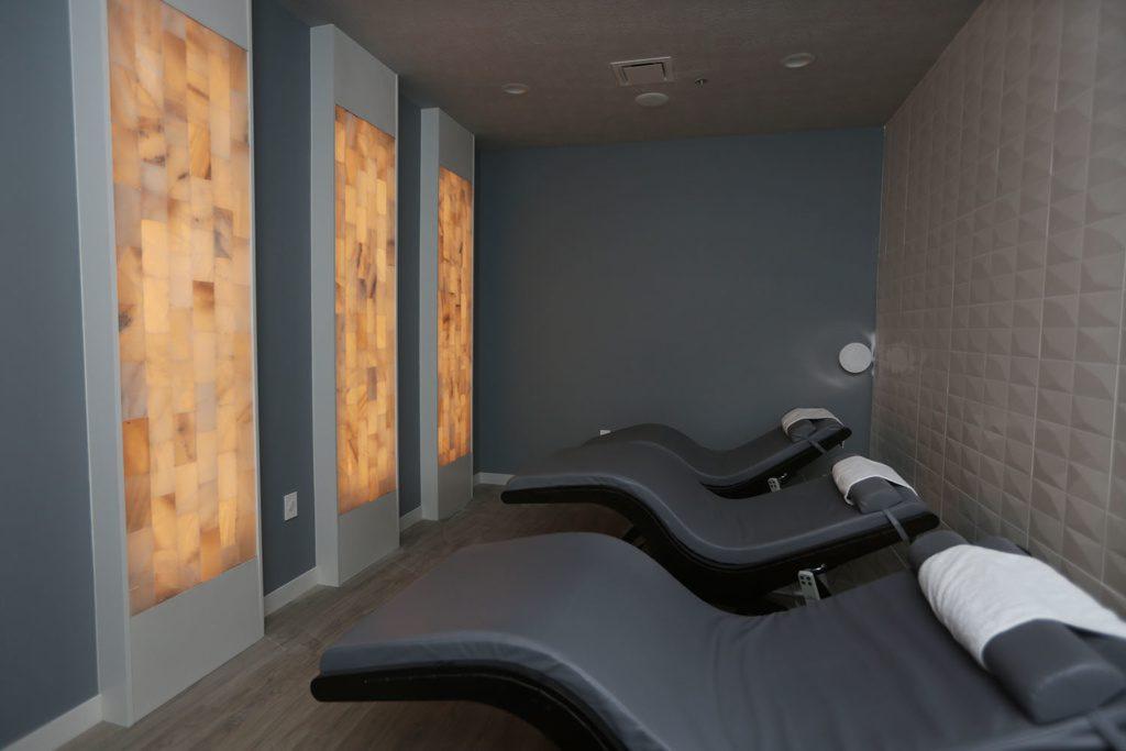 Fantastic Salt Room Sauna Business Opens In New Retail Center Machost Co Dining Chair Design Ideas Machostcouk