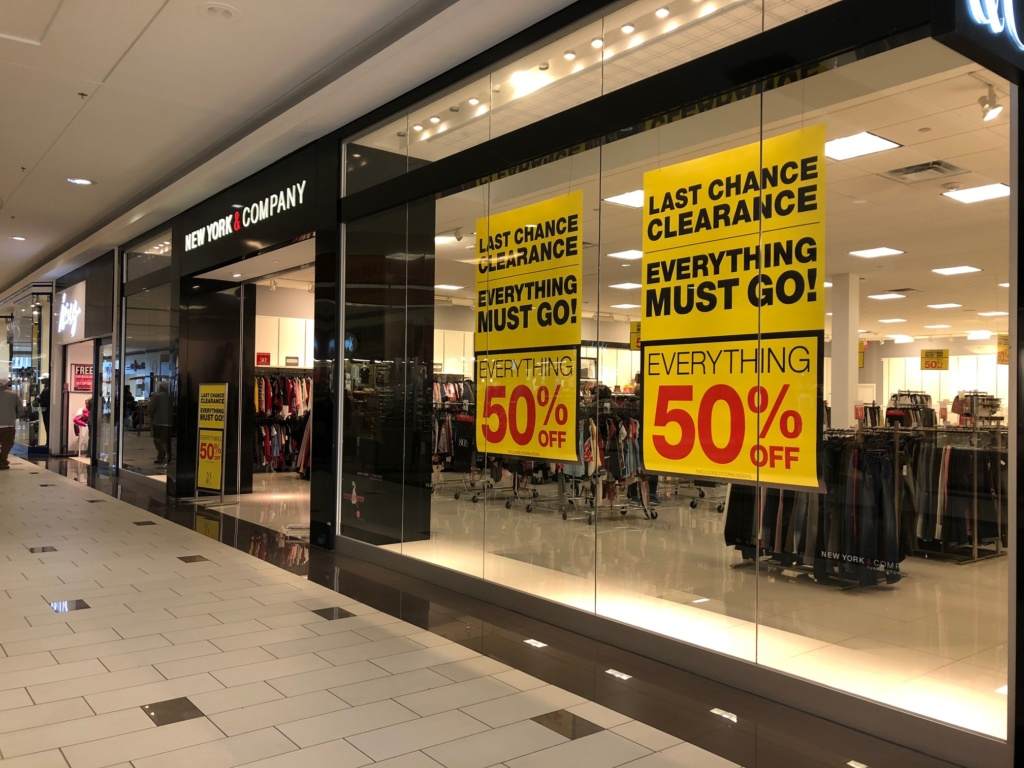 Women's clothing store in The Empire Mall to close