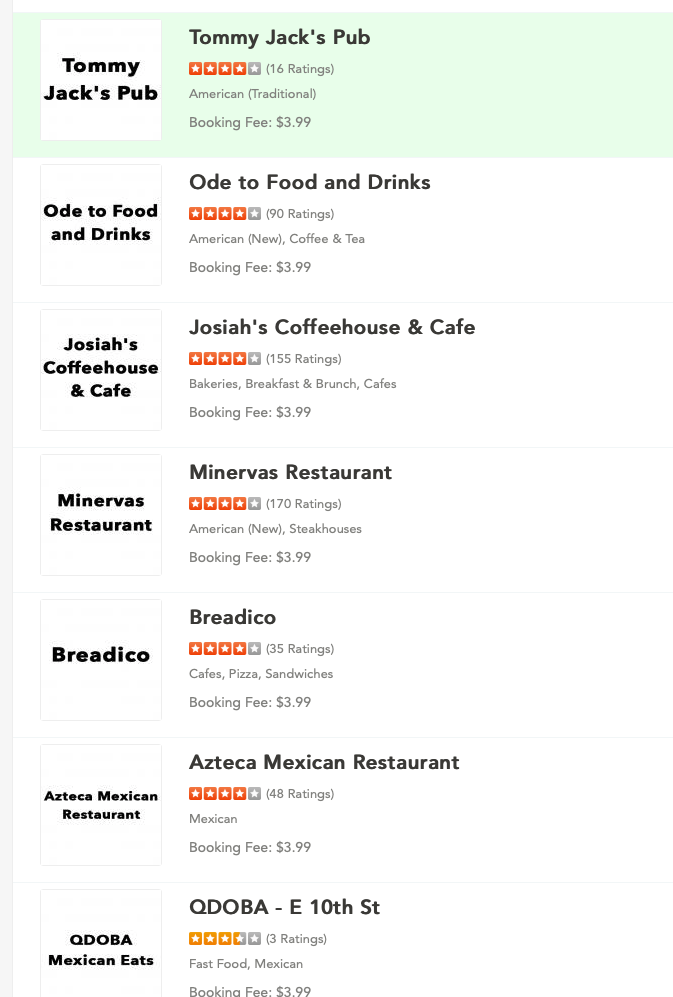 Restaurants: You might be on Bite Squad delivery service and not