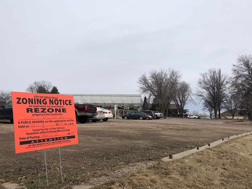 Landscape Garden Centers wants to rezone property for future