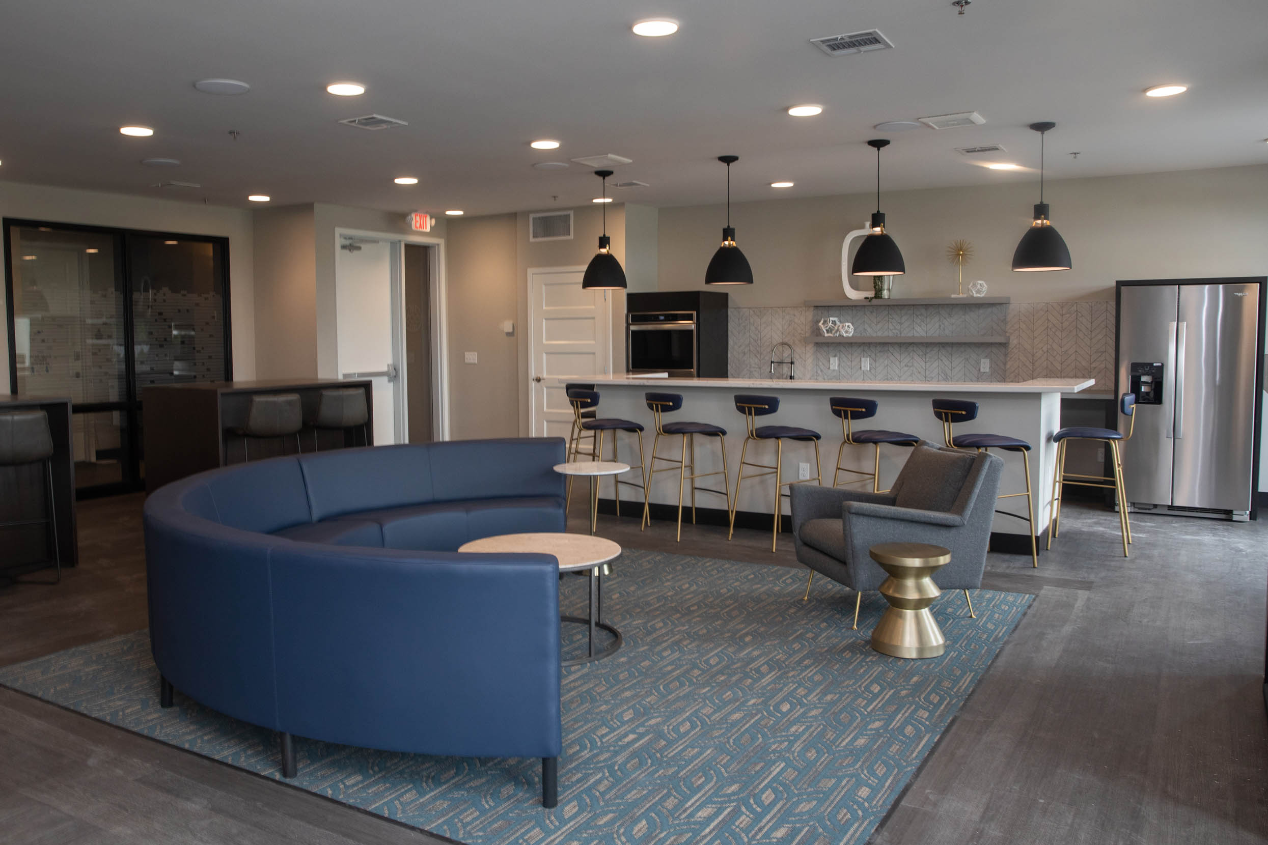 Modern Meets Glam In One Of A Kind Downtown Living Space Siouxfalls Business