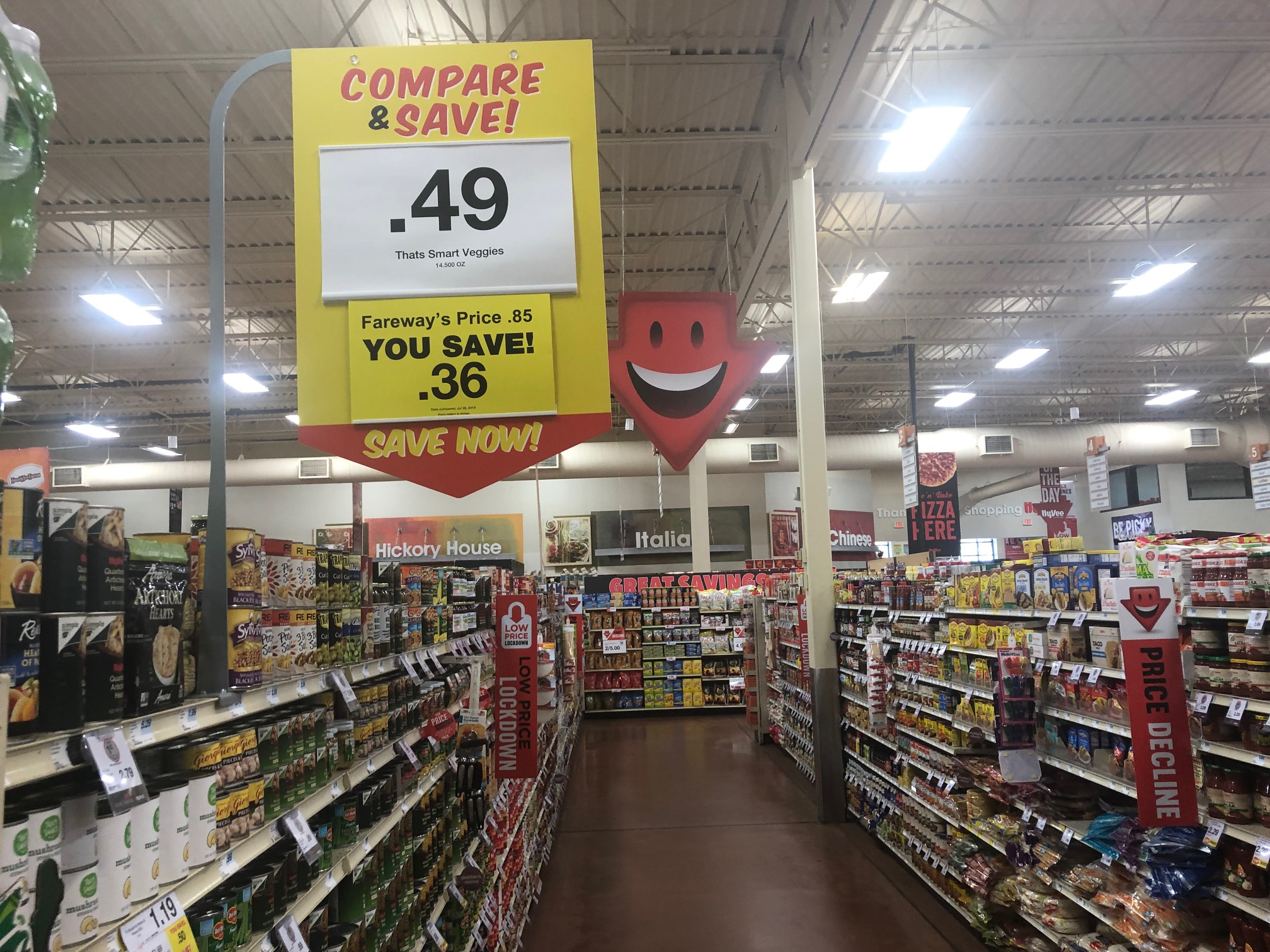 Grocery wars heat up as stores vie to show value