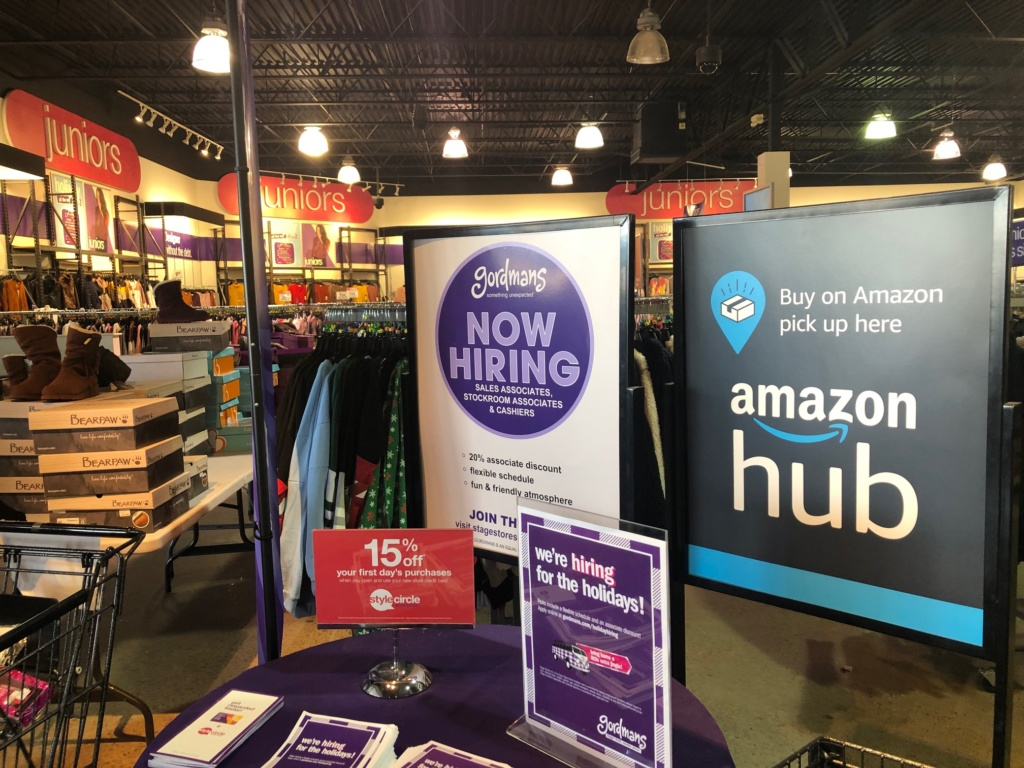 Gordmans Doubles As Sioux Falls Amazon Hub Siouxfalls Business